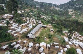डेमोक्रेटिक रिपब्लिक ऑफ कॉन्गो में विस्थापितों के शिविर