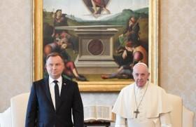 संत पापा और पोलैंड राष्ट्रपति