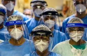 ब्राजील में डॉक्टरों का एक दल